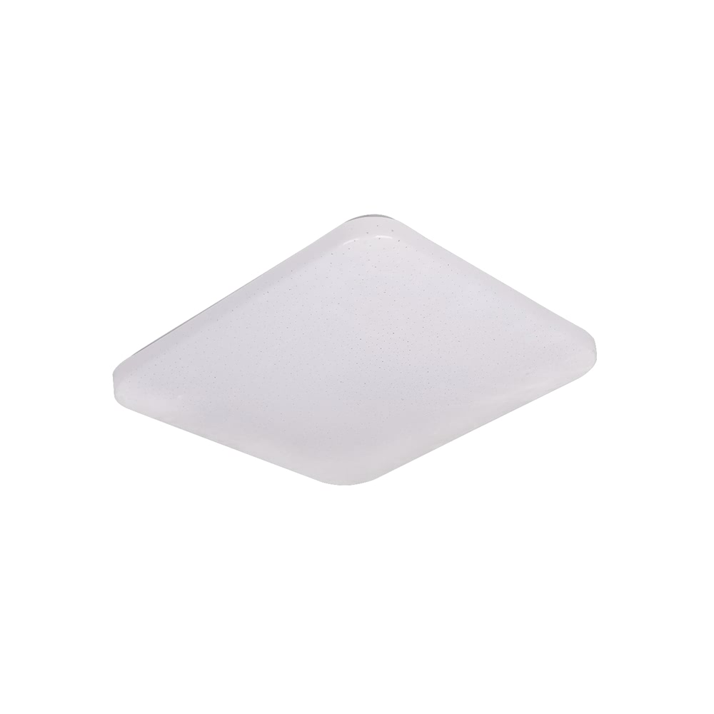 Square Infrared control ceiling lamp